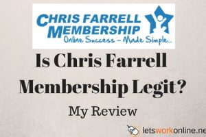 Chris Farrell Membership 3 steps to success