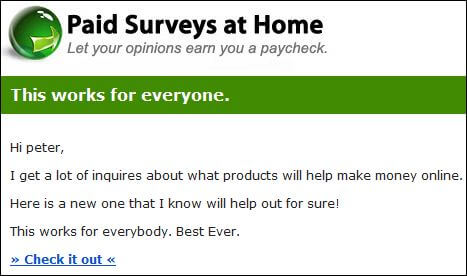 Is Paid Surveys At Home a scam or legit? Read my review