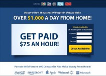 work at home paycheck review
