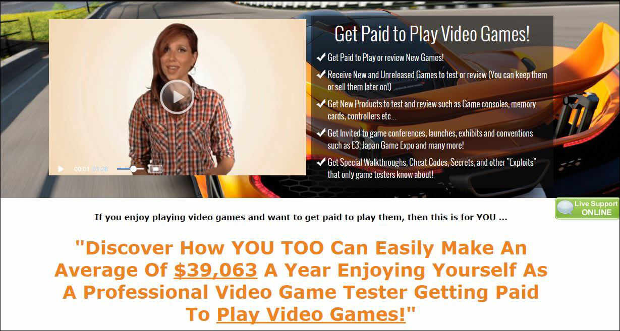 What Is Gaming Jobs Online? Get paid to play video games