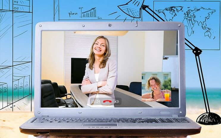 work from home or anywhere start an online business