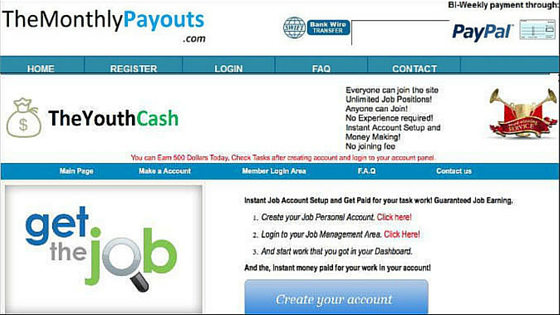 The Youth Cash and The Monthly Payouts Review