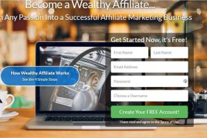 join wealthy affiliate create your free account