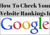 How to check website ranking in Google