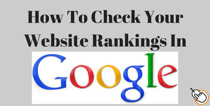 check your website ranking