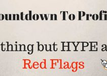 countdown to profits hype and red flags