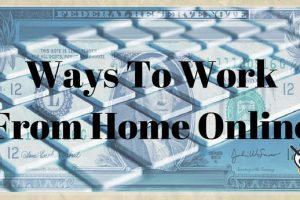 ways-to-work-from-home-online
