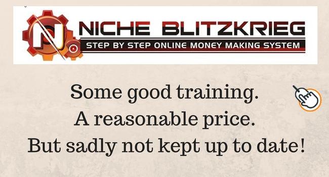 Niche Blitzkrieg some good training