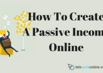How To Create A Passive Income Online