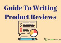 Guide to writing product reviews