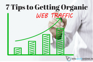 Tips for getting organic traffic