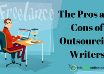 pros and cons of outsourcing writers
