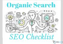 Organic Traffic SEO Checklist