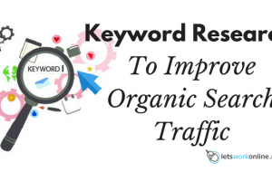 keyword research to improve organic traffic