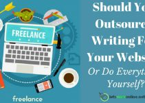 How To Outsource writing for your website