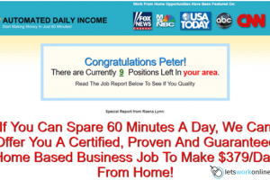 What is Automated Daily Income - scam or legit