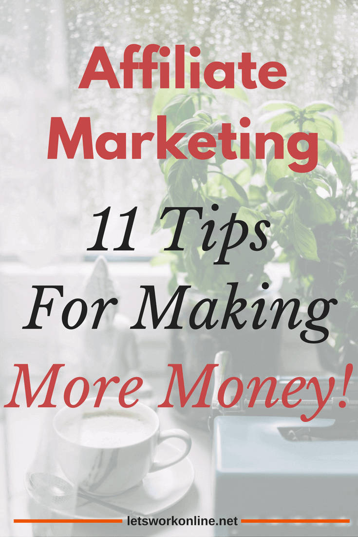 how to make money online using affiliate marketing