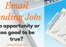 What is Email Sending Jobs - too good to be true
