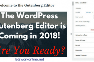 WordPress Gutenberg editor coming in 2018