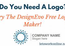 DeignEvo free logo maker