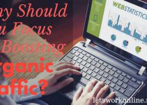 focus on organic traffic