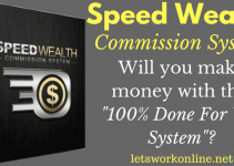 Will you make money with Speed Wealth Commission System?