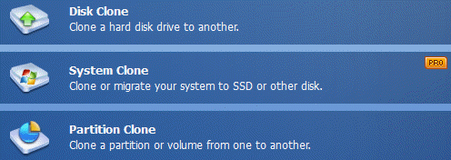 clone your disk system or partition