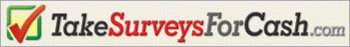 takesurveysforcash logo