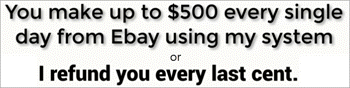 make $500 everyday or get a refund