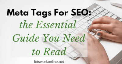 Meta tags for SEO (the essential 6 you must know) - Lets