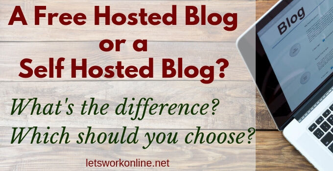 what is a self hosted blog?